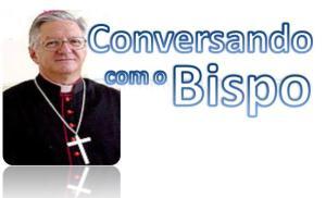 conversando com bispo